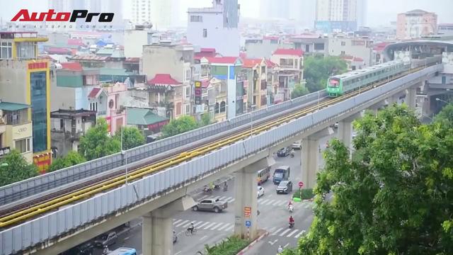 Trải nghiệm thực tế đi xe máy từ Hà Đông đến Cát Linh: Chậm hơn tàu điện mà còn phải chịu bụi bẩn! - Ảnh 2.