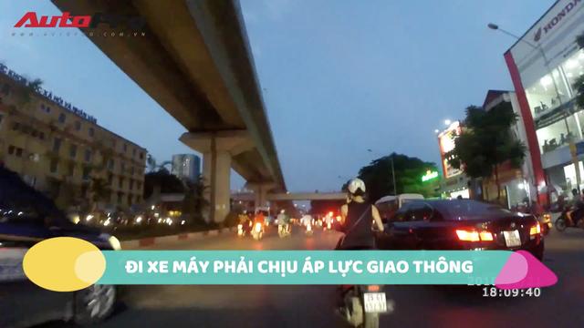 Trải nghiệm thực tế đi xe máy từ Hà Đông đến Cát Linh: Chậm hơn tàu điện mà còn phải chịu bụi bẩn! - Ảnh 6.