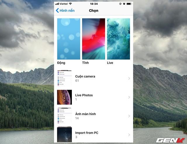 Thủ thuật sống ảo: Cách mang bộ ảnh Live Wallpaper của iPhone Xs/Xs Max lên các dòng iPhone cũ - Ảnh 11.