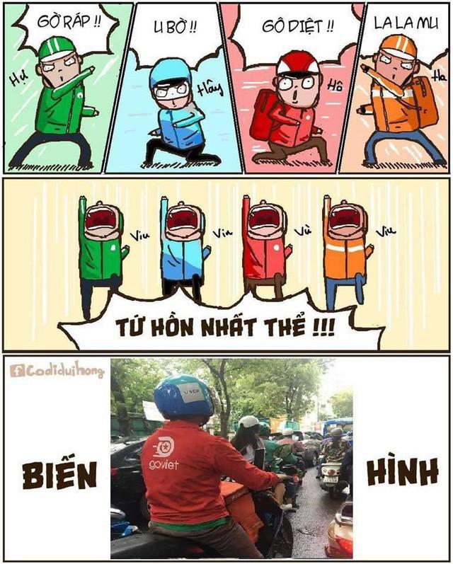 Đây là tử huyệt của Go-Viet, Grab, FastGo và kẻ chiến thắng tương lai rất có thể là taxi truyền thống! - Ảnh 6.