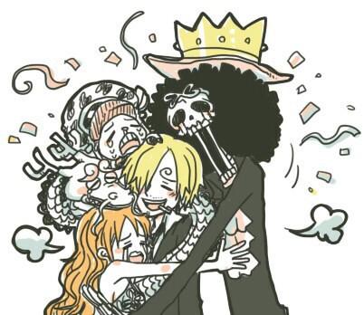 Spoil One Piece 919: Băng Mũ Rơm hội tụ đầy đủ - Hé lộ lời nguyền xuyên không của các Võ sĩ đạo - Ảnh 3.