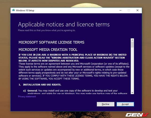 Cách đơn giản để sở hữu trước gói cài đặt của Windows 10 October 2018 chính thức từ Microsoft - Ảnh 7.