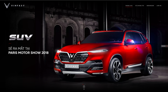 VinFast đổi giao diện hoành tráng, cập nhật lịch livestream màn ra mắt lịch sử tại Paris Motor Show 2018 - Ảnh 3.