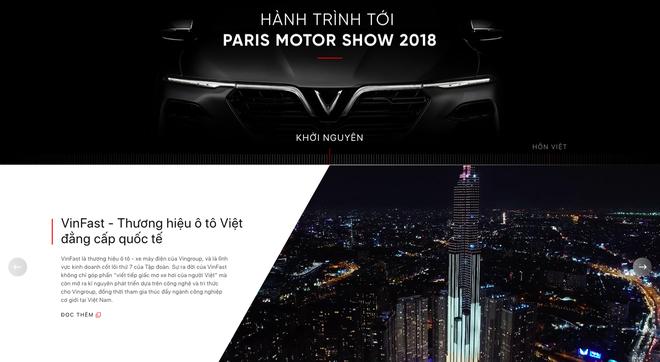 VinFast đổi giao diện hoành tráng, cập nhật lịch livestream màn ra mắt lịch sử tại Paris Motor Show 2018 - Ảnh 5.