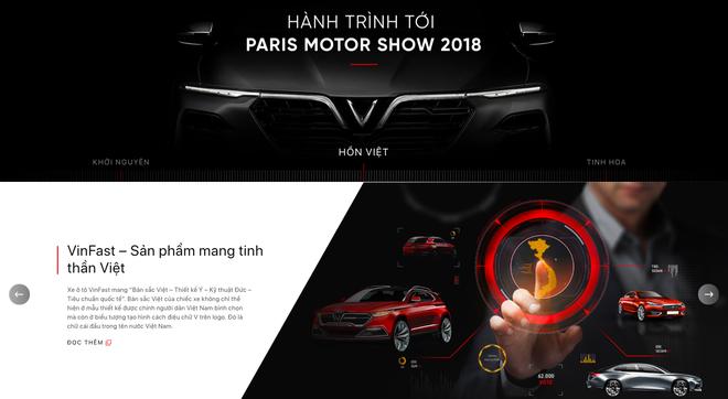 VinFast đổi giao diện hoành tráng, cập nhật lịch livestream màn ra mắt lịch sử tại Paris Motor Show 2018 - Ảnh 6.