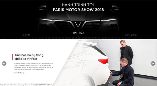 VinFast đổi giao diện hoành tráng, cập nhật lịch livestream màn ra mắt lịch sử tại Paris Motor Show 2018 - Ảnh 7.