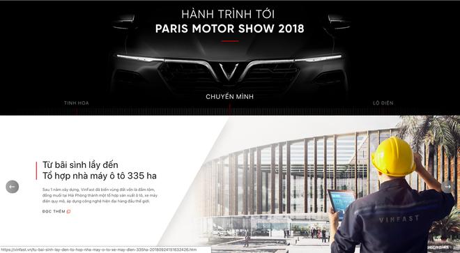 VinFast đổi giao diện hoành tráng, cập nhật lịch livestream màn ra mắt lịch sử tại Paris Motor Show 2018 - Ảnh 8.