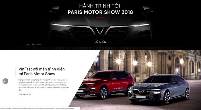 VinFast đổi giao diện hoành tráng, cập nhật lịch livestream màn ra mắt lịch sử tại Paris Motor Show 2018 - Ảnh 9.