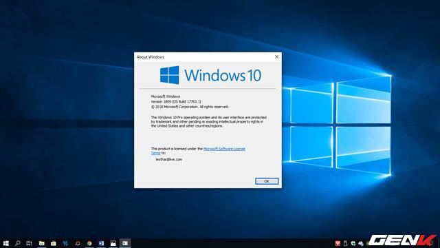 Trải nghiệm Windows 10 October 2018: File Explorer có chế độ nền tối, hiệu suất cải thiện đáng kể - Ảnh 1.