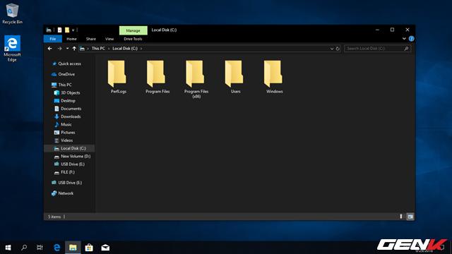 Trải nghiệm Windows 10 October 2018: File Explorer có chế độ nền tối, hiệu suất cải thiện đáng kể - Ảnh 4.