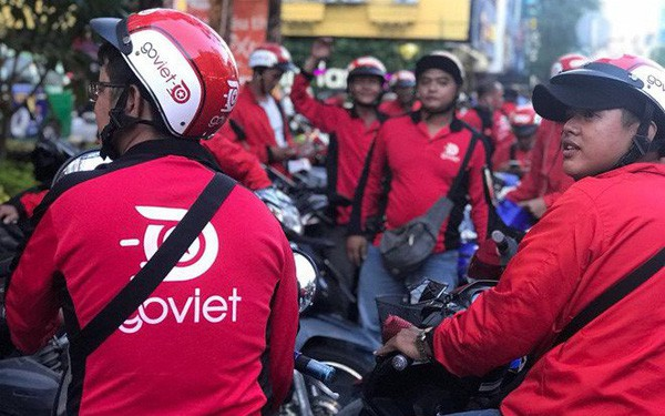 Go-Viet rầm rộ tuyển tài xế, bắt đầu tấn công ra thị trường Hà Nội - Ảnh 1.