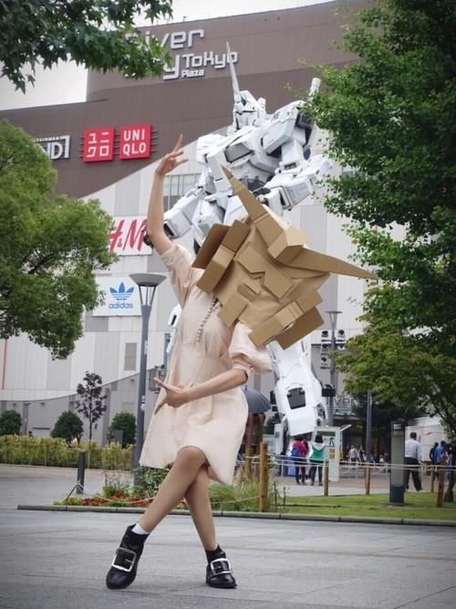 Cô gái mét sáu, dáng chuẩn mặc đẹp lại mê Gundam này đang khiến dân mạng Nhật suýt xoa vì thú vị quá - Ảnh 7.