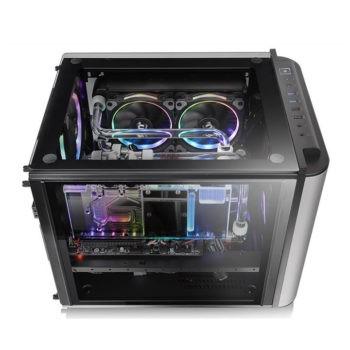Case máy tính siêu việt Thermaltake Level 20 VT - Gã khổng lồ trong thân hình tí hon - Ảnh 3.