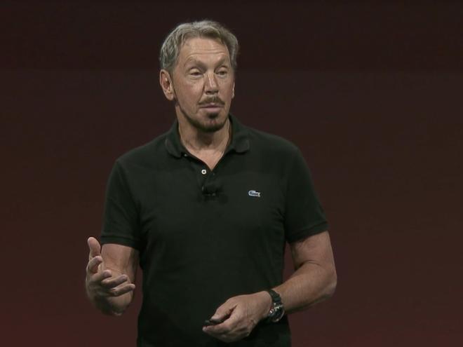 CEO Larry Ellison của Oracle