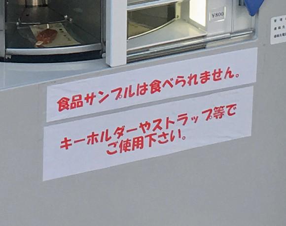 Nhật Bản có cả máy bán mô hình đồ ăn giả tự động, trông ứa nước miếng vì tưởng thức ăn thật - Ảnh 4.