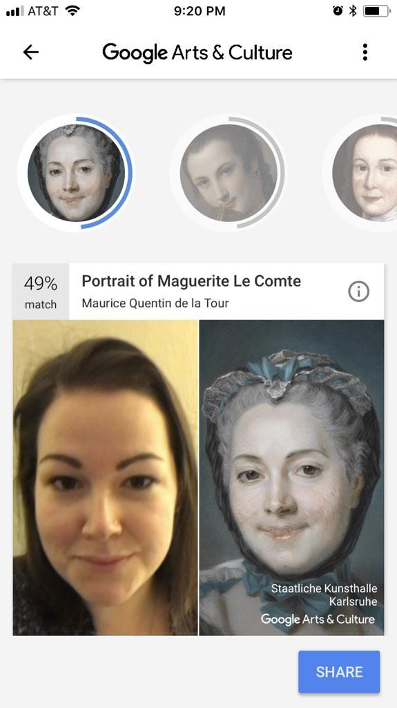 Ứng dụng này cho phép bạn tìm thấy bản sao của chính mình trong các tác phẩm nghệ thuật nổi tiếng - Ảnh 4.