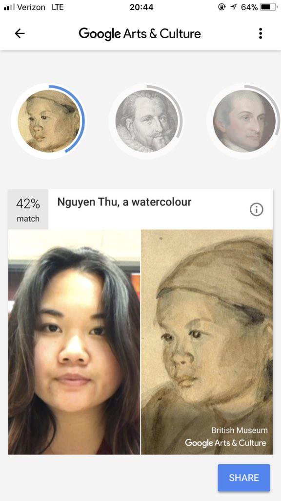 Ứng dụng này cho phép bạn tìm thấy bản sao của chính mình trong các tác phẩm nghệ thuật nổi tiếng - Ảnh 6.