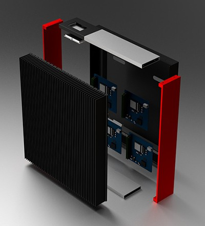 Chán Intel, công ty này muốn sử dụng chip AMD cho giải pháp server kiêm máy sưởi của mình - Ảnh 1.