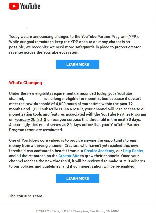Các YouTuber nói gì khi YouTube đang thảm sát các kênh video nhỏ lẻ? - Ảnh 1.