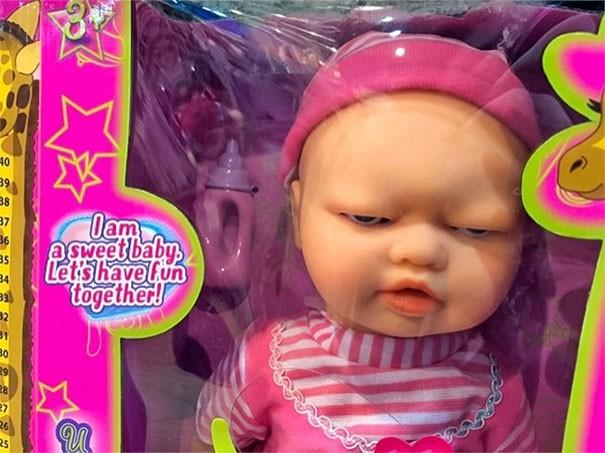 [Vui] Chết cười với những món đồ chơi đã thiết kế lỗi lại còn xấu xí như một cơn ác mộng - Ảnh 8.