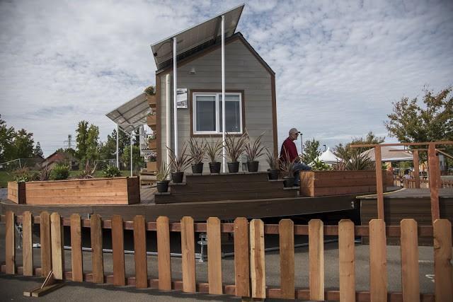 Cận cảnh ngôi nhà 22m2 có thể tự xoay để đón nắng - Ảnh 4.