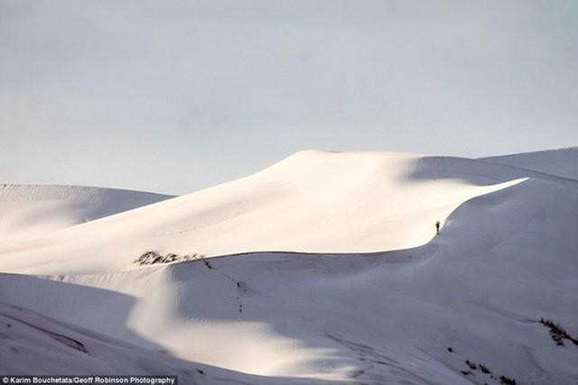 Trung Quốc: Lạnh đến mức tóc đóng băng ngoài trời - Ảnh 7.