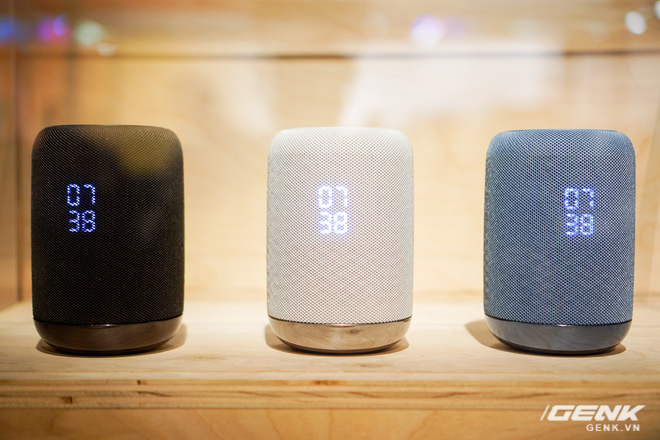Loa thông minh không dây tích hợp Google Assistant LF-S50G của Sony tại CES 2018.