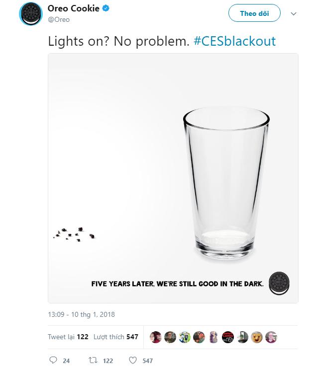 Có điện rồi à? Không vấn đề gì