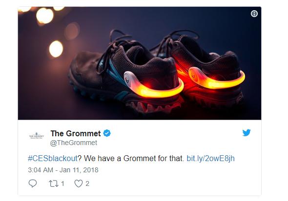 Giày Grommet được làm ra cho những tình huống như thế này