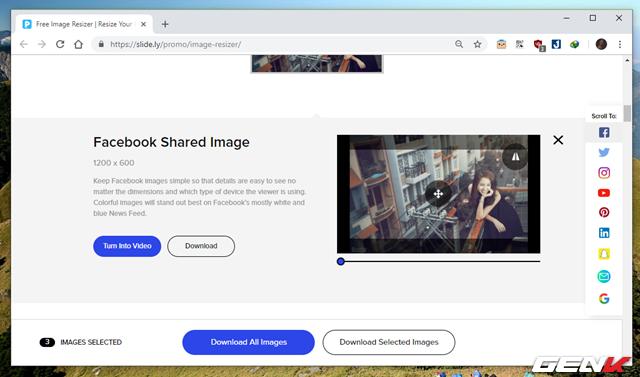 Hướng dẫn cách giúp tạo nhanh ảnh bìa cho Facebook, Twitter, YouTube,… với kích thước chuẩn - Ảnh 9.