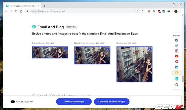 Hướng dẫn cách giúp tạo nhanh ảnh bìa cho Facebook, Twitter, YouTube,… với kích thước chuẩn - Ảnh 7.