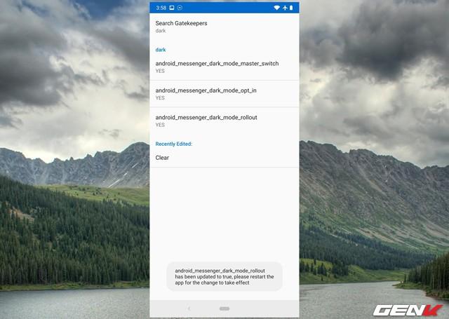 Cách kích hoạt chế độ nền tối cho Facebook Messenger trên Android - Ảnh 9.