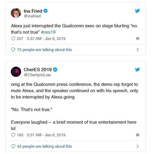 Trợ lý ảo Alexa của Amazon ngắt lời con người trên sân khấu CES 2019, phải chăng AI đã có suy nghĩ riêng? - Ảnh 2.