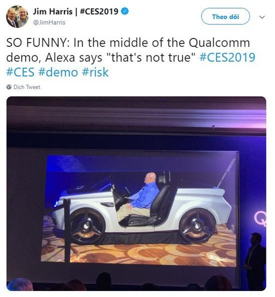 Trợ lý ảo Alexa của Amazon ngắt lời con người trên sân khấu CES 2019, phải chăng AI đã có suy nghĩ riêng? - Ảnh 3.
