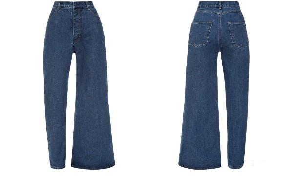 Chiếc quần jeans bên loe bên xìu giá 8 triệu 7 hứa hẹn phá đảo làng thời trang năm 2019 - Ảnh 2.