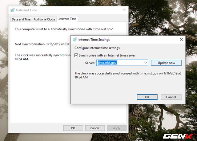 Nguyên nhân và cách khắc phục lỗi thời gian luôn hiển thị sai trên Windows 10 - Ảnh 10.
