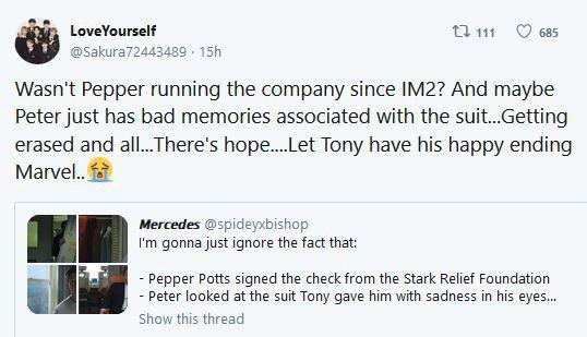 Fan Marvel lo lắng cho số phận của Iron Man sau khi trailer Spider-Man: Far From Home lên sóng - Ảnh 5.