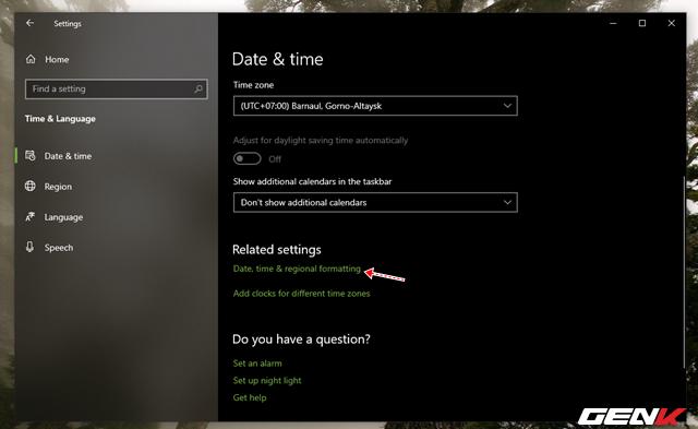 Nguyên nhân và cách khắc phục lỗi thời gian luôn hiển thị sai trên Windows 10 - Ảnh 6.