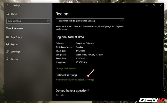 Nguyên nhân và cách khắc phục lỗi thời gian luôn hiển thị sai trên Windows 10 - Ảnh 7.