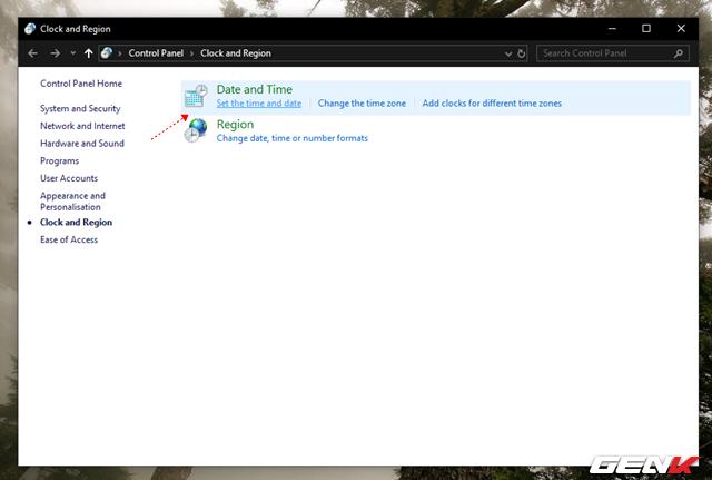 Nguyên nhân và cách khắc phục lỗi thời gian luôn hiển thị sai trên Windows 10 - Ảnh 8.
