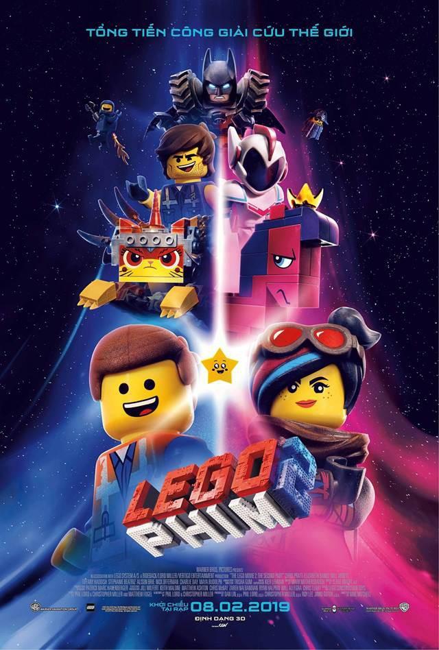 Cùng gặp lại Aquaman và Wonder Woman trong cuộc tổng tiến công giải cứu vũ trụ của The Lego Movie 2 - Ảnh 1.