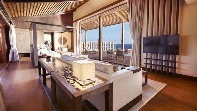 Tham quan khu nghỉ dưỡng xa hoa trên đảo nhân tạo với hệ thống pin Mặt Trời ngay trên mái nhà tại Maldives - Ảnh 20.