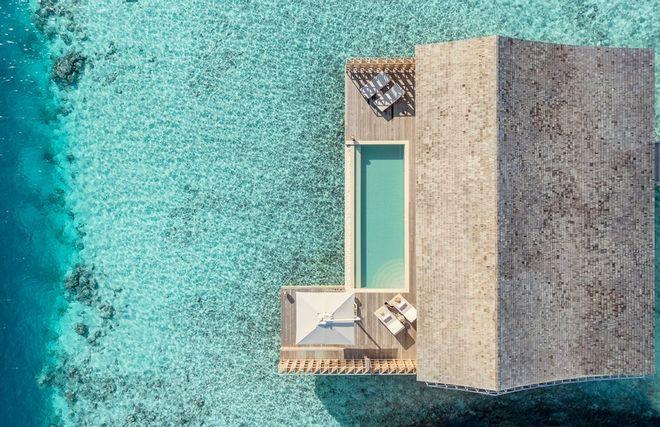Tham quan khu nghỉ dưỡng xa hoa trên đảo nhân tạo với hệ thống pin Mặt Trời ngay trên mái nhà tại Maldives - Ảnh 7.