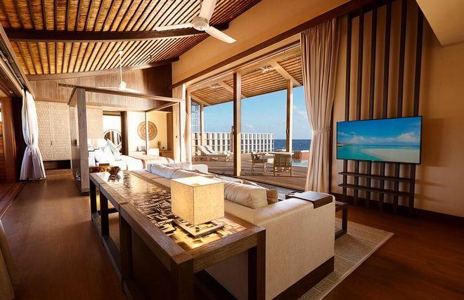 Tham quan khu nghỉ dưỡng xa hoa trên đảo nhân tạo với hệ thống pin Mặt Trời ngay trên mái nhà tại Maldives - Ảnh 16.