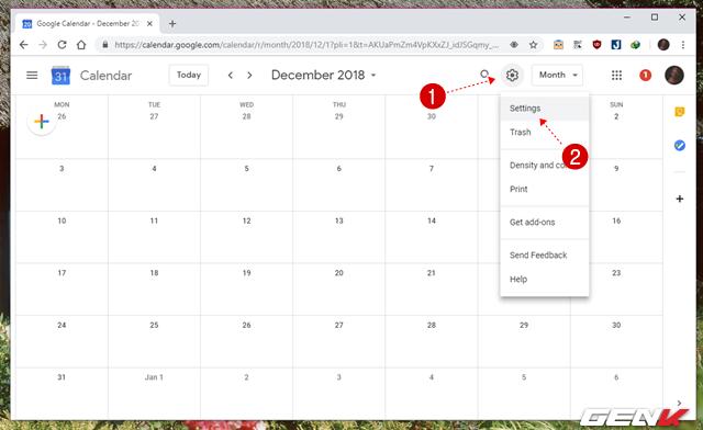 5 Cách đơn giản để đồng bộ và quản lý dữ liệu Google Calendar trên Windows 10 - Ảnh 12.