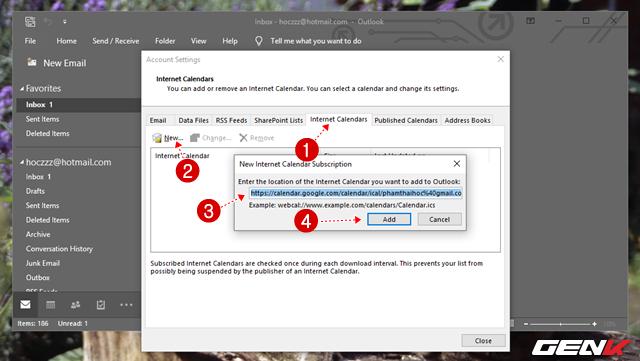 5 Cách đơn giản để đồng bộ và quản lý dữ liệu Google Calendar trên Windows 10 - Ảnh 14.