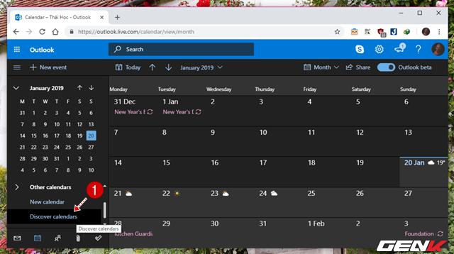 5 Cách đơn giản để đồng bộ và quản lý dữ liệu Google Calendar trên Windows 10 - Ảnh 16.