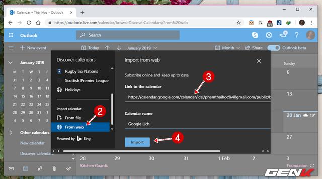 5 Cách đơn giản để đồng bộ và quản lý dữ liệu Google Calendar trên Windows 10 - Ảnh 17.