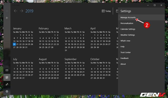 5 Cách đơn giản để đồng bộ và quản lý dữ liệu Google Calendar trên Windows 10 - Ảnh 3.