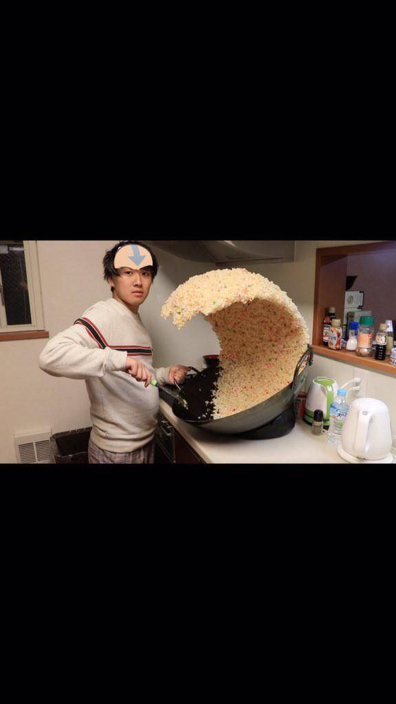 Sự thật phía sau chảo cơm rang khổng lồ gây bão Internet của anh chàng Nhật Bản - Ảnh 8.
